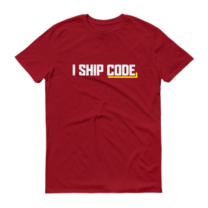 I Ship Code Anvil 980 T-Shirt