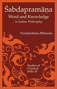 Sabdapramana — Word and Knowledge in Indian Philosophy