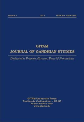 Gitam Journal of Gandhian Studies (Vol. 2)