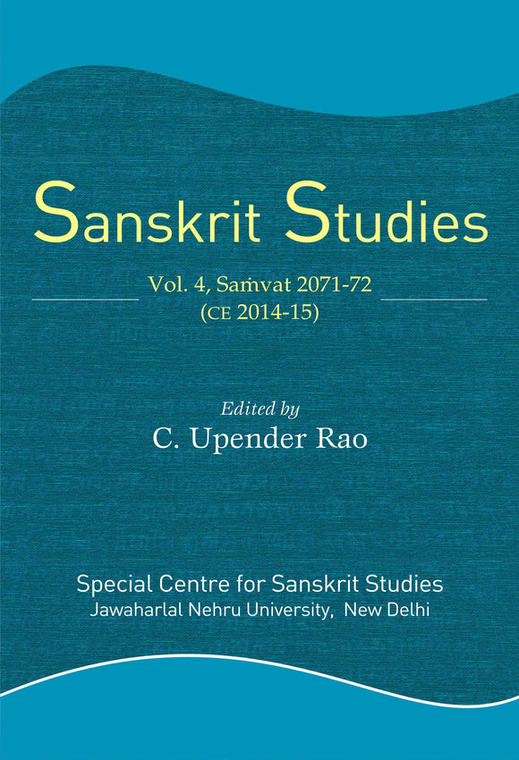 Sanskrit Studies Vol. 4