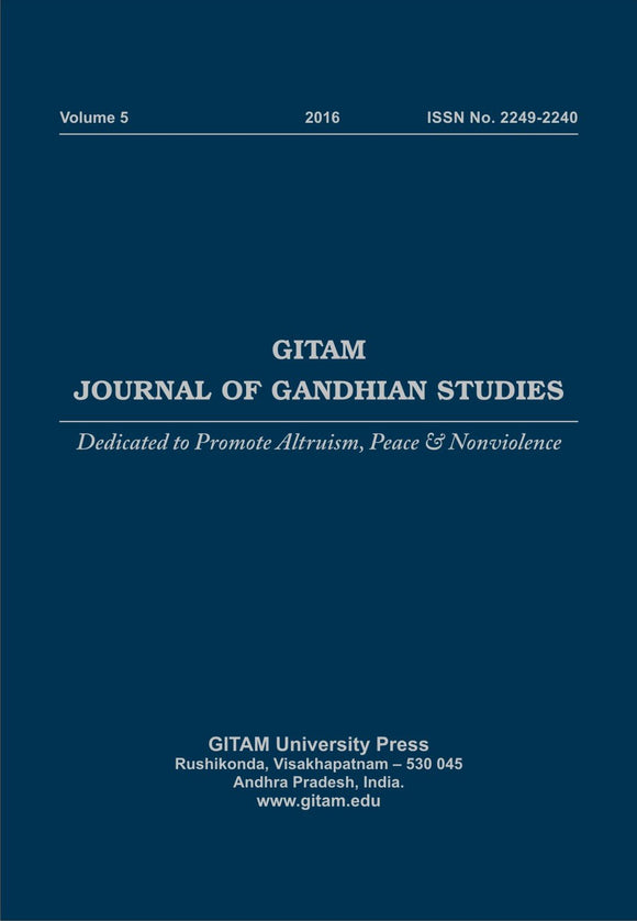 Gitam Journal of Gandhian Studies (Vol. 5)