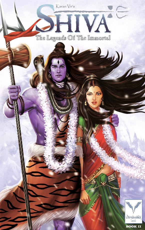 Vimanika Comics Shiva - The Legend Of The Immortal Book 2