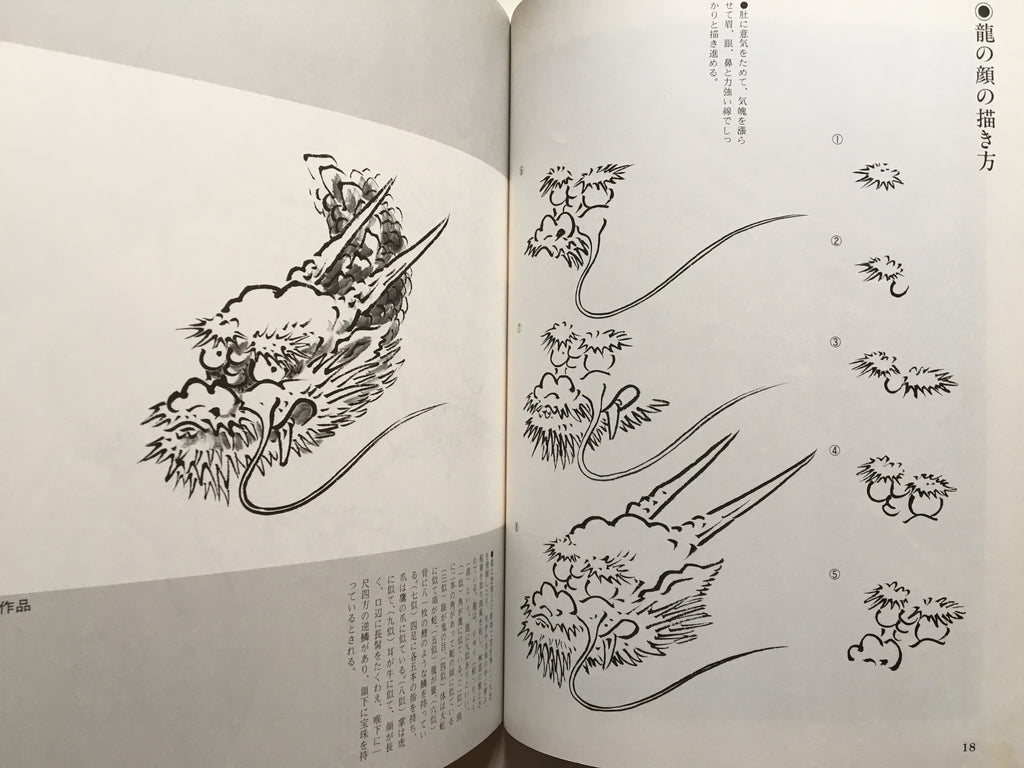 Suibokuga Magazine - How to Draw Dragons