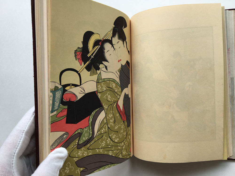Treasures of Utamaro (Wooden version)