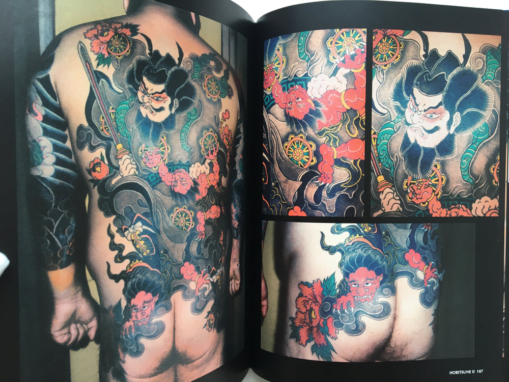 Bunshin II/ Horitsune II: Japanese Traditional Tattoo / Dragon and Kannon