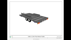 4.8 Metre Tiny House Trailer