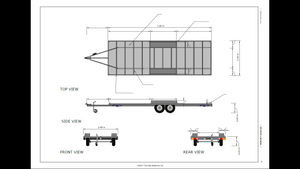 7.2 Metre Tiny House Trailer
