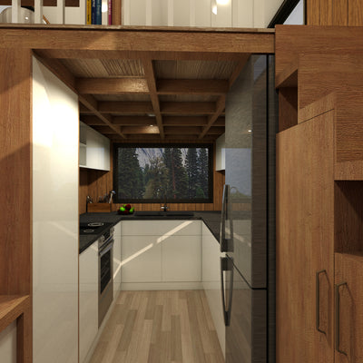 ADVENTURER - 8 4 Metre (28ft) Tiny House Plans