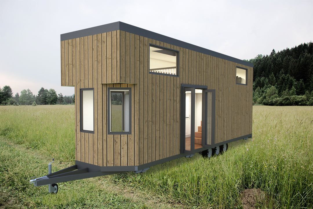FAMILY - 9 6 Metre (31ft) Tiny House Plans