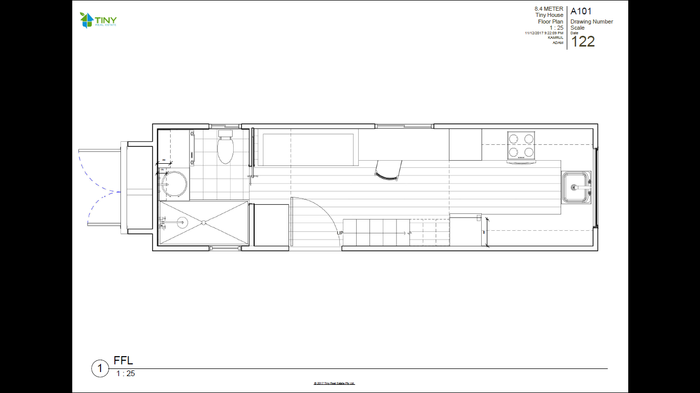 ADVENTURER 84 Metre 28ft Tiny House Plans Tiny Real Estate – House Floor Plans To Scale
