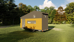 TRAVELLER - 6 Metre (20ft) Tiny House Plans