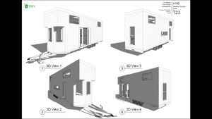 Family - 9.6 Metre Tiny House Plans Exterior