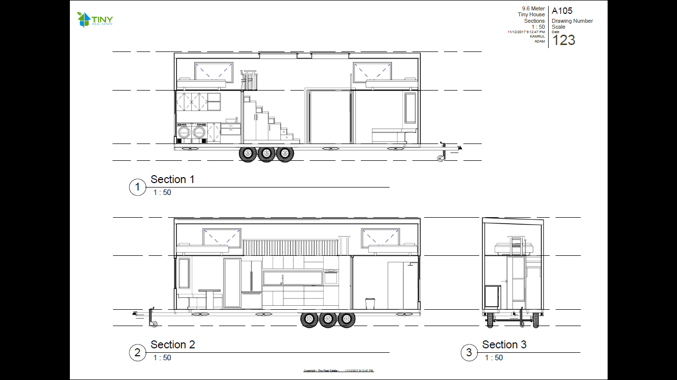 Family 9 6 metre 31ft tiny house plans tiny real estate for Tiny house family of 6