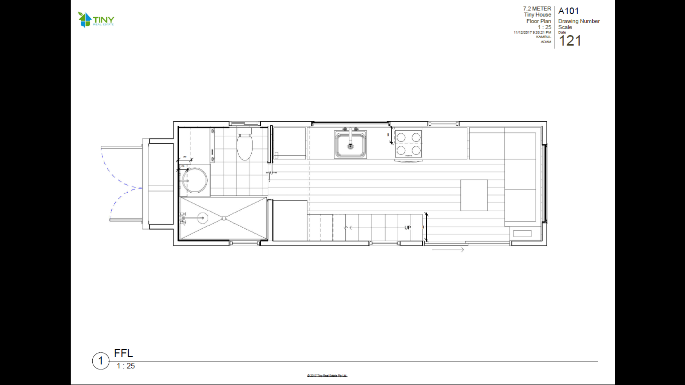 Attractive FREEDOM   7.2 Metre (24ft) Tiny House Plans Photo Gallery