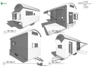 ABUNDANCE - 7.2 Metre (24ft) Tiny House Plans