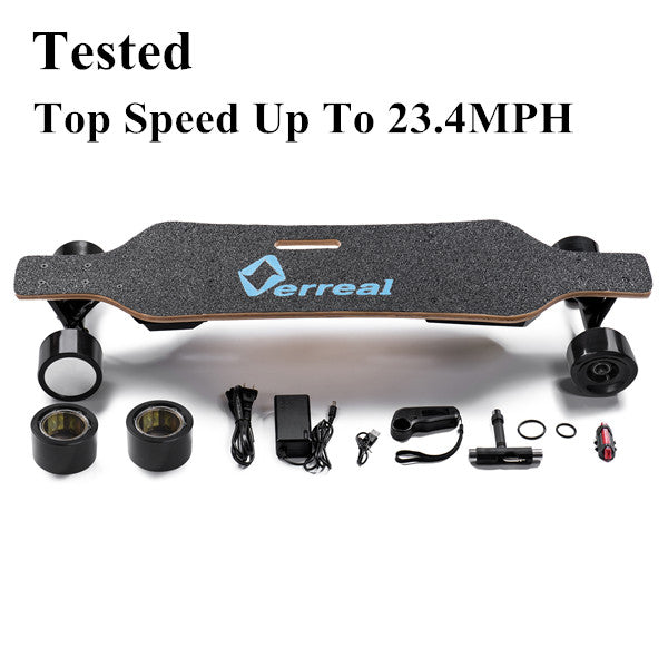Verreal V1 Electric Skateboard Reachs Up To 23.4MPH