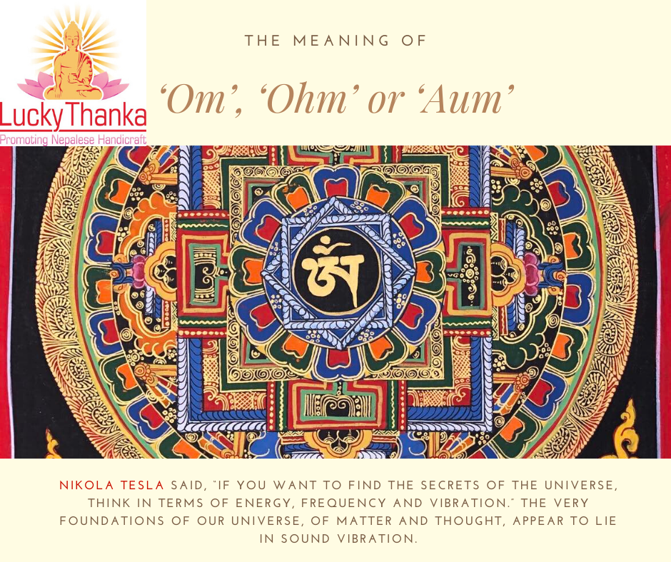 The Meaning of the 'Om', 'Ohm' or 'Aum' Symbol?