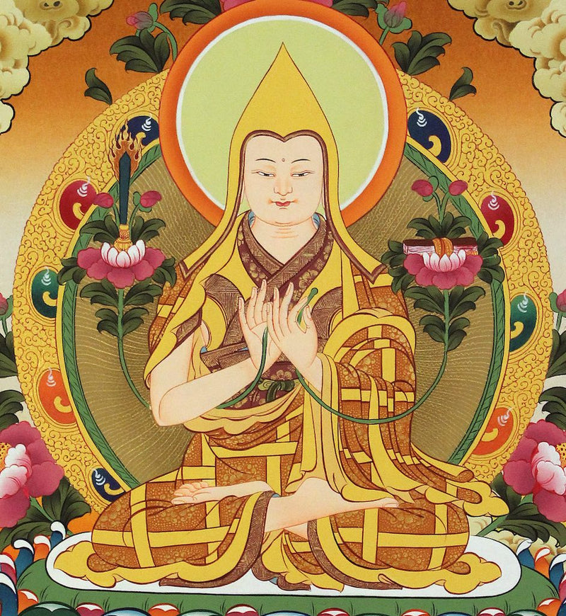 The Brief Biography of Lama Tsongkhapa