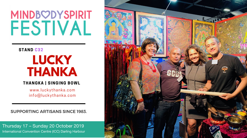 October 17 - 20 Exhibition Show at MindBodySpirit Festival, Sydney, Australia