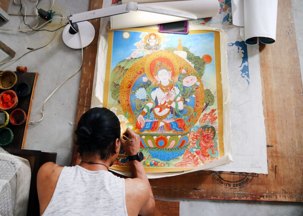Thangka Painting: A Roadmap to Enlightenment