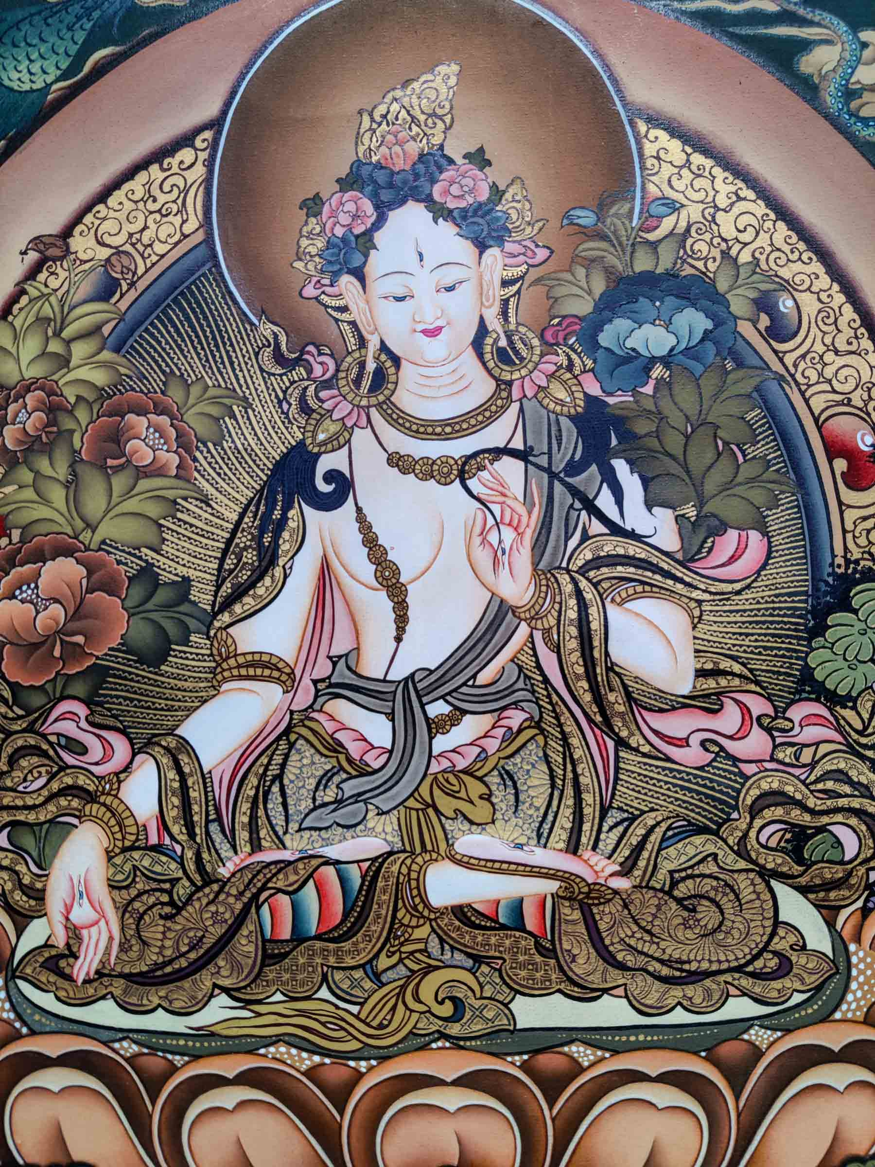 Face Quality in thangka