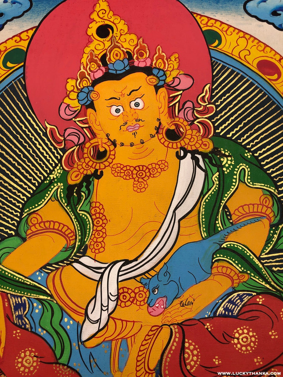 Zambala Thangka Painting