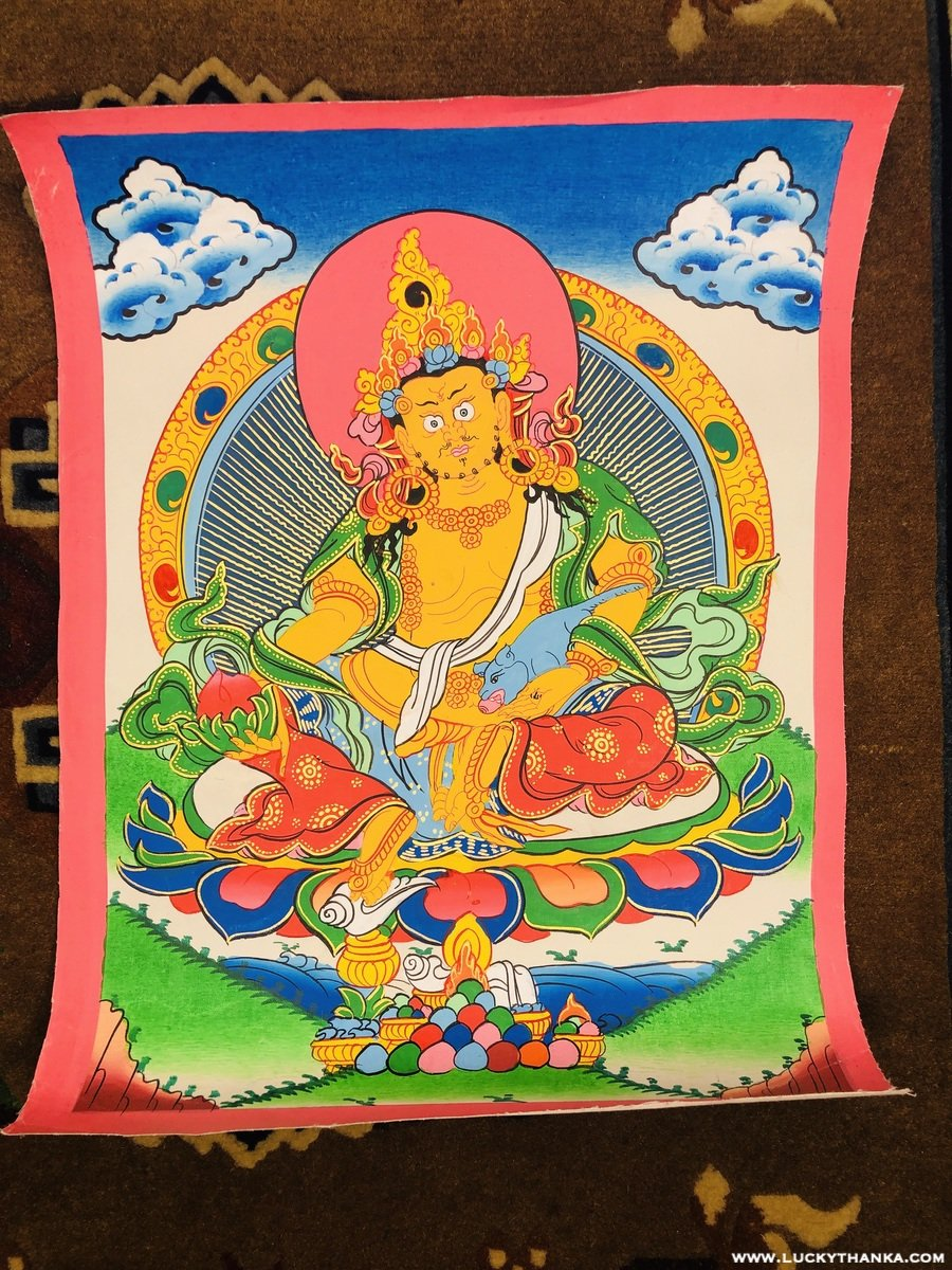 Kuber Thangka Painting