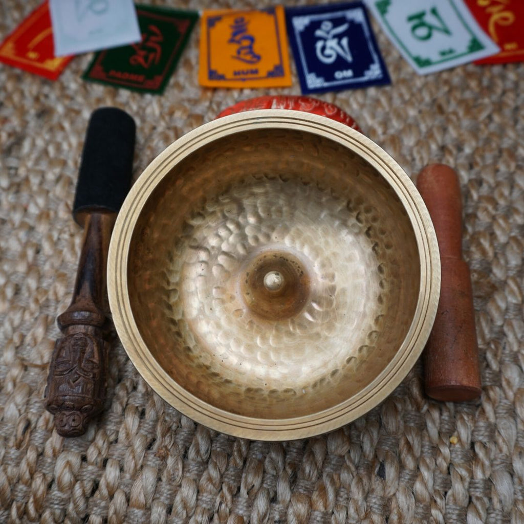 Golden Lingham Singing Bowl | Small Size -  Best Thangka & Singing Bowl