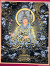 #1 Gold and Silver Guru Thangka Best Quality -  Best Thangka & Singing Bowl