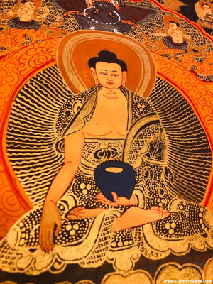 Shakyamuni Buddha Thangka -  Best Thangka & Singing Bowl