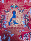 Buddha of Paradise Medicine Bhaishajyaguru Thangka - Master pcs -  Best Thangka & Singing Bowl