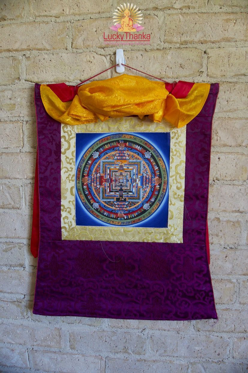 Kalchakra Mandala -  Best Thangka & Singing Bowl