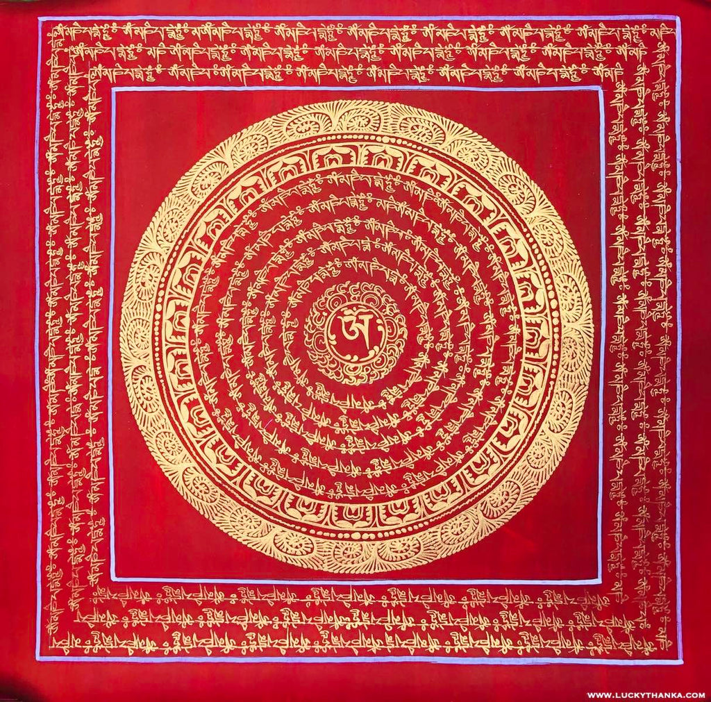 Mandala Thangka Painting