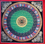 Om Mani Padme Hum Wall Hanging Thangka -  Best Thangka & Singing Bowl