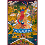 Amitabha Buddha thangka painting for meditation.