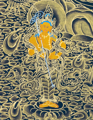White Tara Thangka Painting art | Love and Compassion -  Best Thangka & Singing Bowl