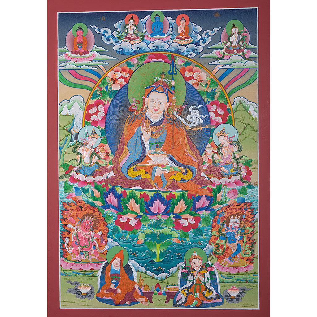 Guru Chenge -  Best Thangka & Singing Bowl