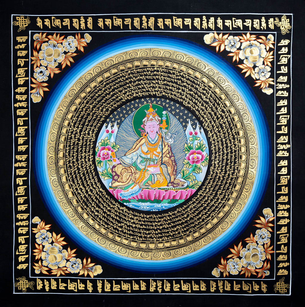 Guru Padmasambhava Mandala Thangka Buy Thangka -  Best Thangka & Singing Bowl
