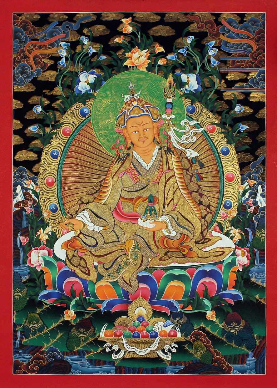 Guru -  Best Thangka & Singing Bowl
