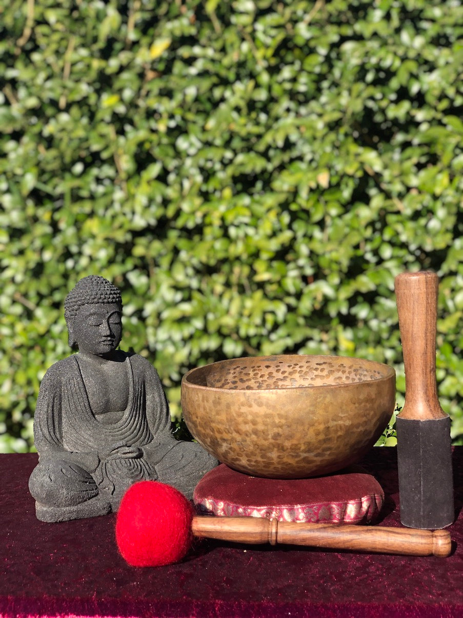 Antique Singing Bowl from Nepal purely handmade with relaxing sound specially for Meditation and Stress Relief | Collection pcs -  Best Thangka & Singing Bowl