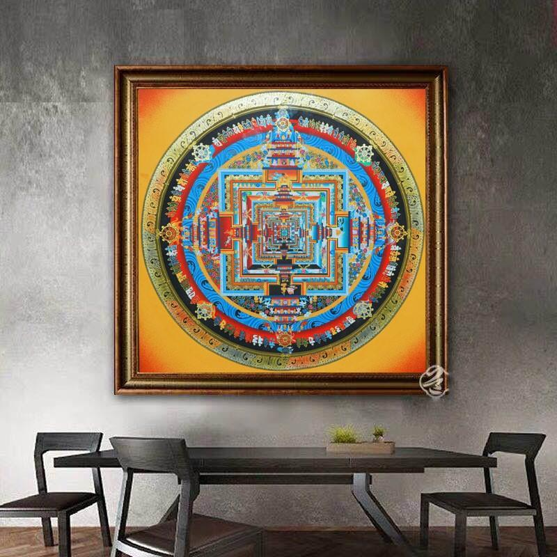 Mandala Thangka for Decoration