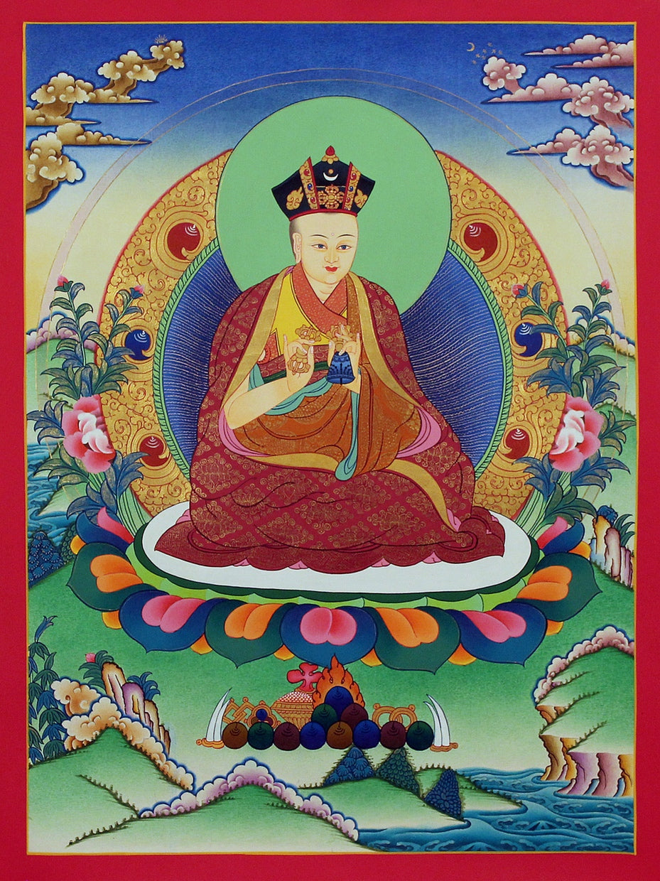Karmapa -  Best Thangka & Singing Bowl