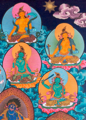 1000 armed DUKKAR PAINTING ON COTTON CANVAS | HANDMADE THANGKA PAINTING FROM NEPAL -  Best Thangka & Singing Bowl
