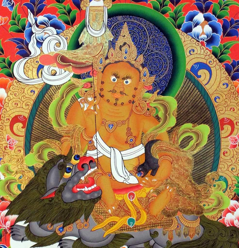 Zambala -  Best Thangka & Singing Bowl