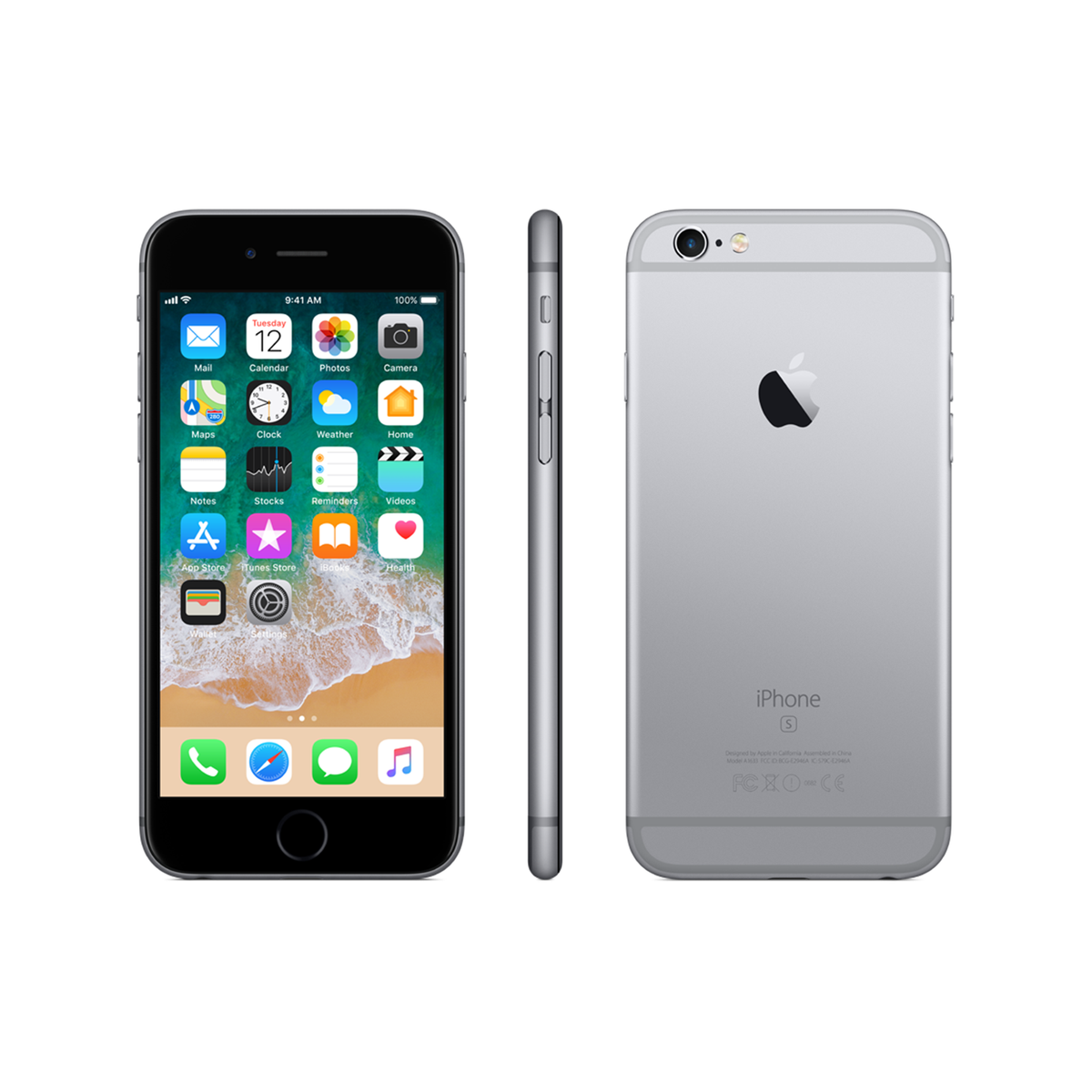 iphone 6s 128gb space gray droptechza. Black Bedroom Furniture Sets. Home Design Ideas