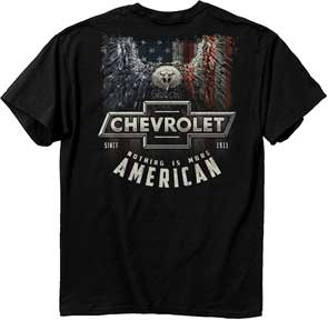 Chevy American Eagle Shirts