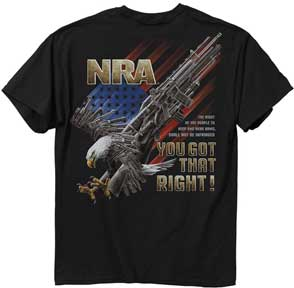 NRA Eagle Shirt
