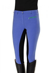 Pfiff Full Seat Breeches 'Lilith' - UK6, Blue only