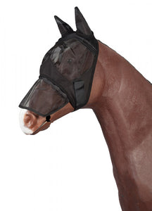 PFIFF Fly Mask With Removable Nose Protection