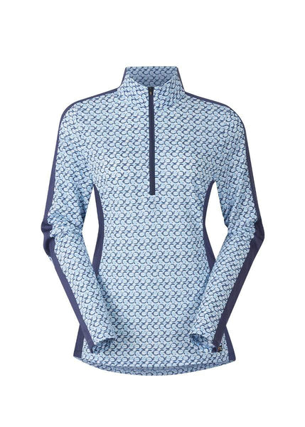 Cool Ride Ice Fil Long Sleeve Shirt - Print